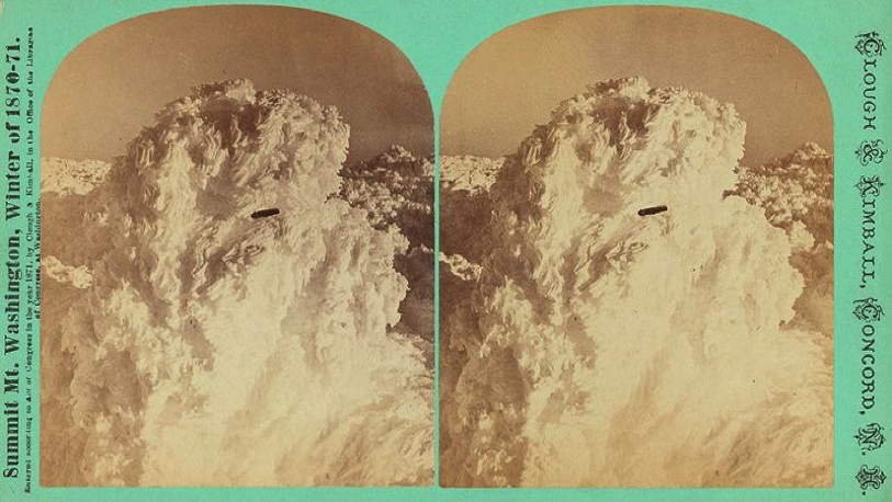 First Ever UFO Photo Mt. Washington (1870)
