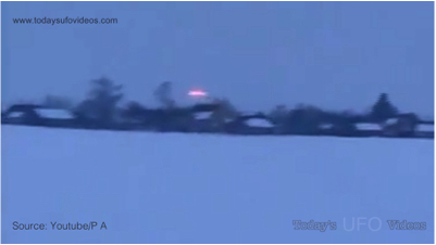 Bright UFO Captured Over Belarus