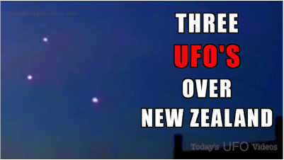 UFO Captured Over Upland California Drops From the Sky